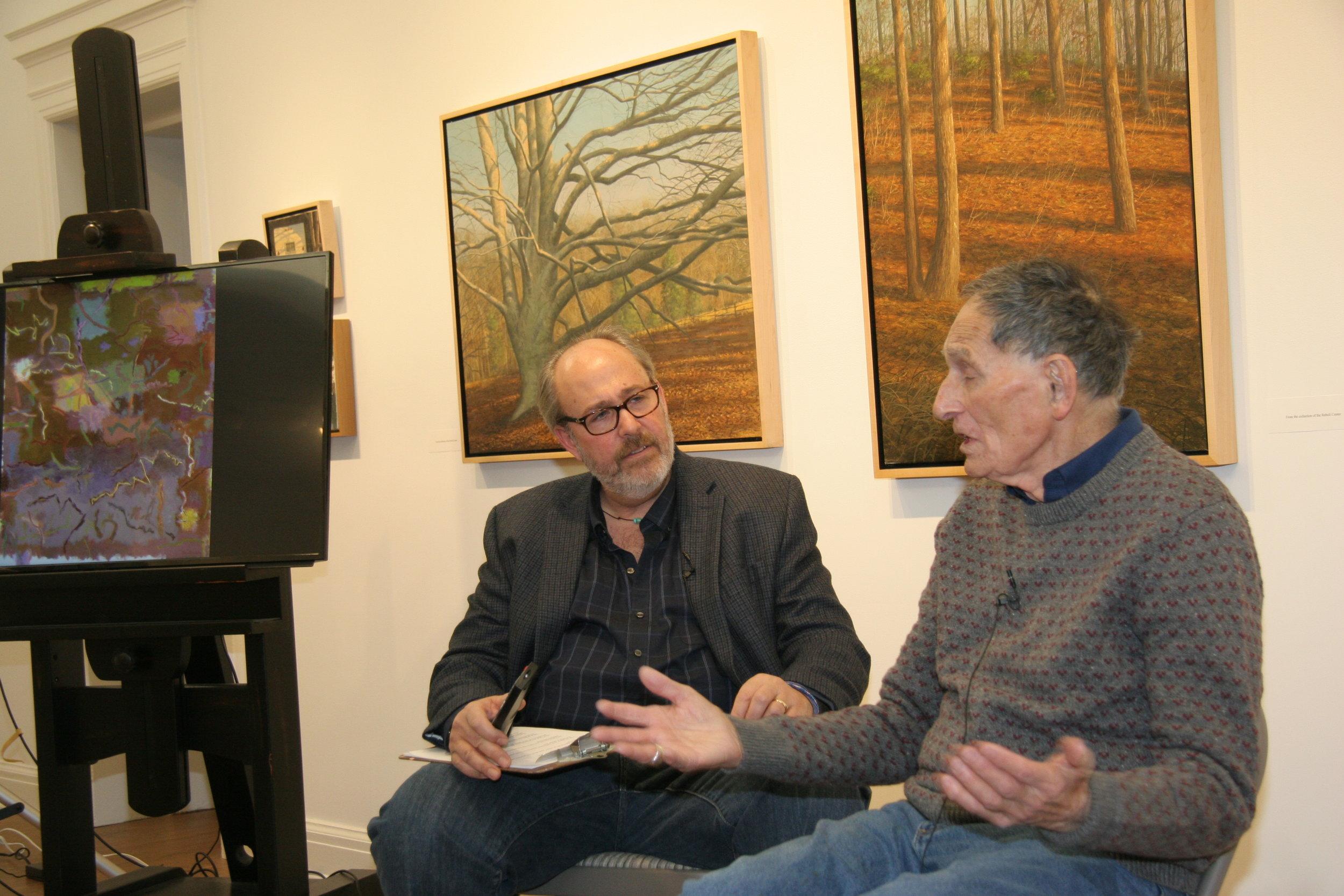 Doug Reina with Stan Brodsky