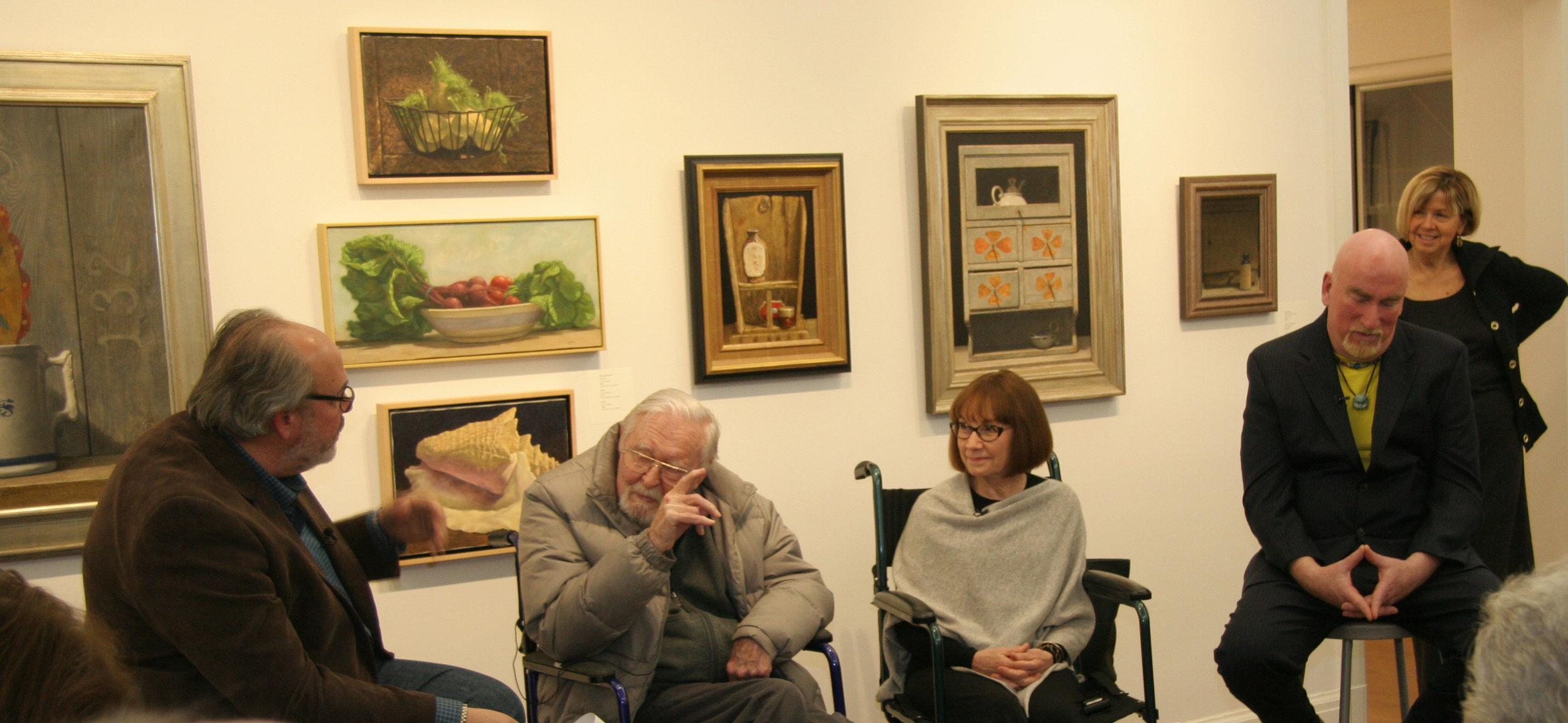 Doug Reina interviewing Ken Davies with Jo-Anne Scavetta & Dan Buckley