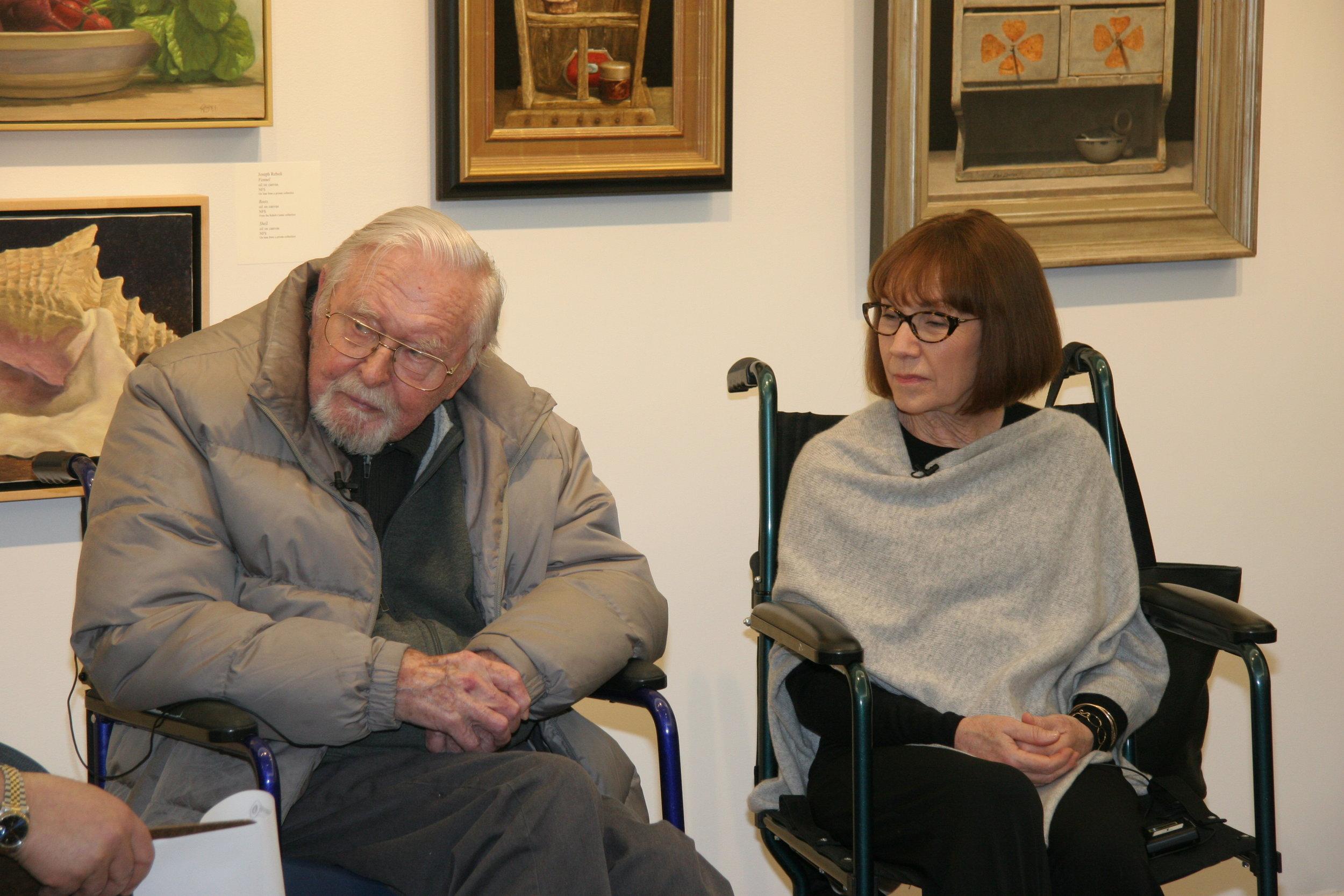 Ken Davies with Jo-Anne Scavetta