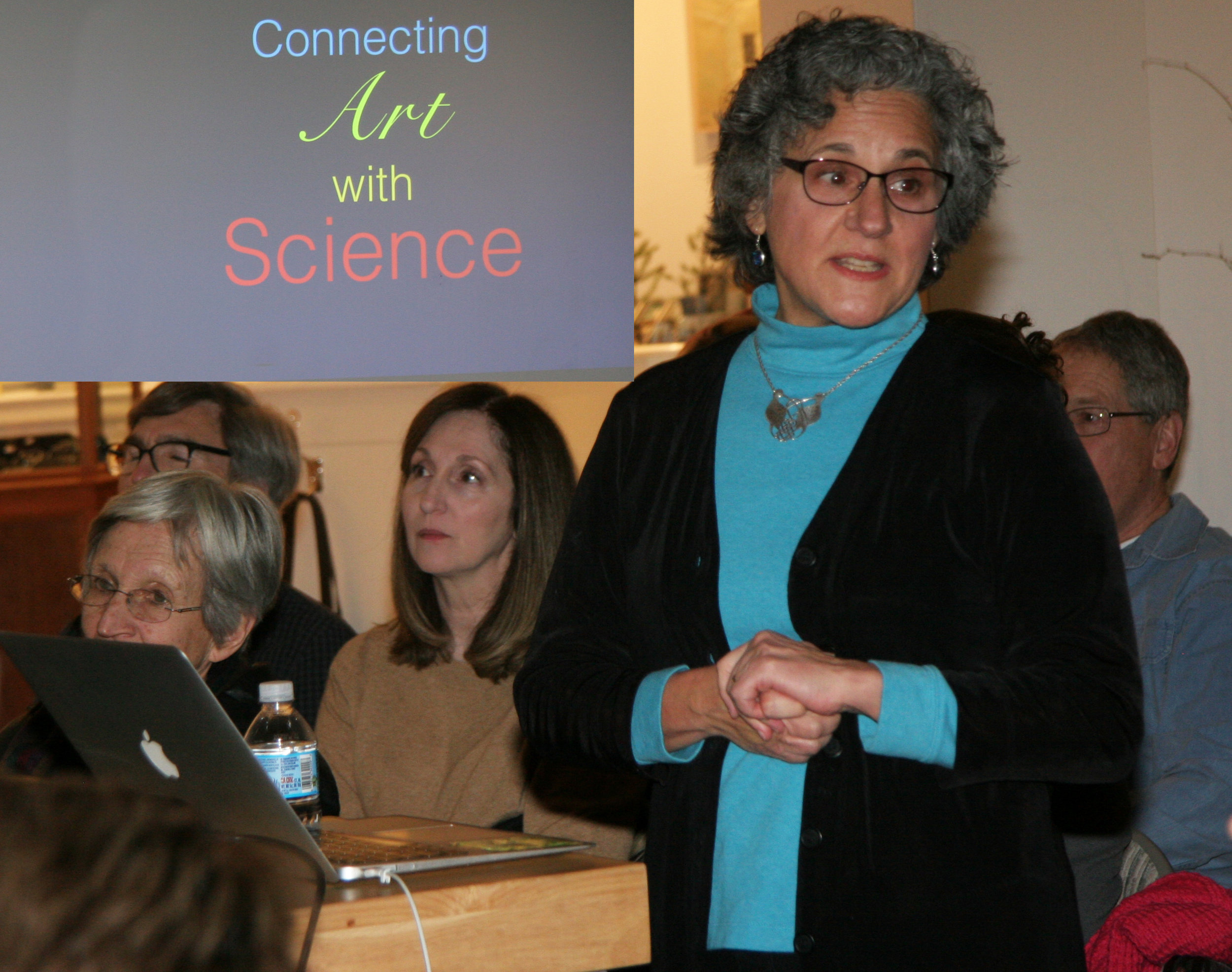 Luci Betti-Nash was our  Third Friday  speaker in January.