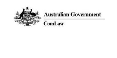 ComLaw – Australian legislation