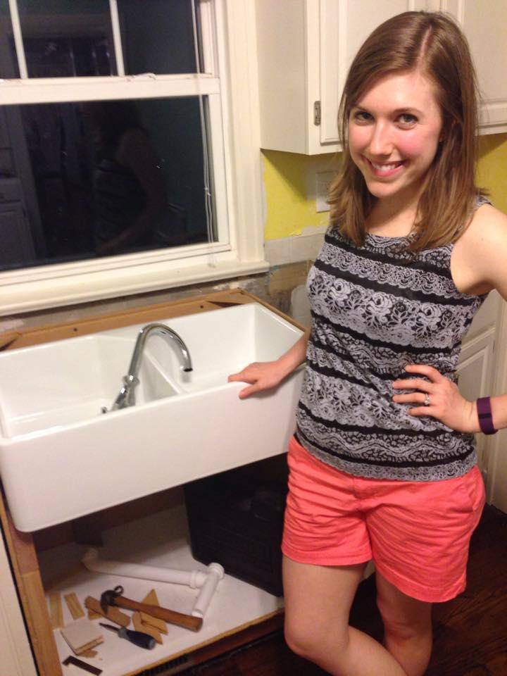 Farmer's sink!