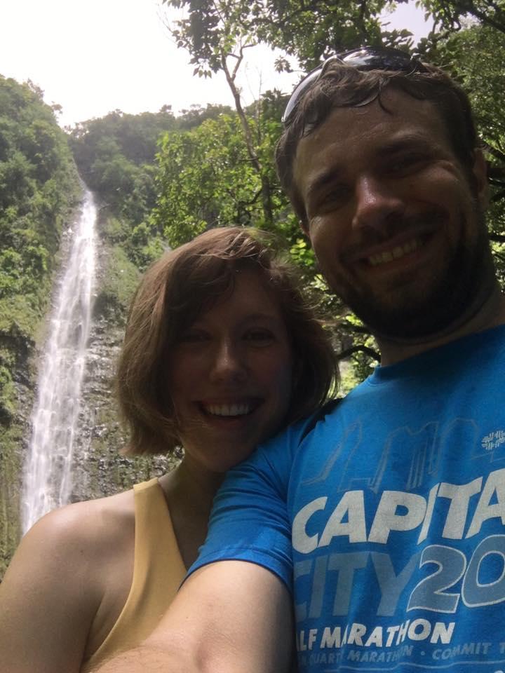 Waimoku Falls, located at Haleakala National Park, in Maui, Hawaii.