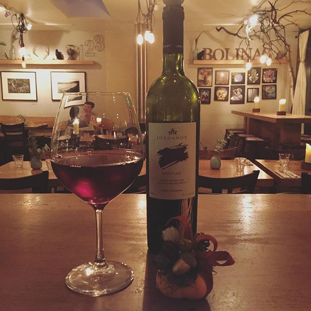 New to the list! Jordanov 'Vranec' 2015... Rich and full of dark blackberry with tobacco aroma and a smooth dry finish... a rare, ancient grape varietal...$8 a glass/$7 during happy hour (5-6pm)