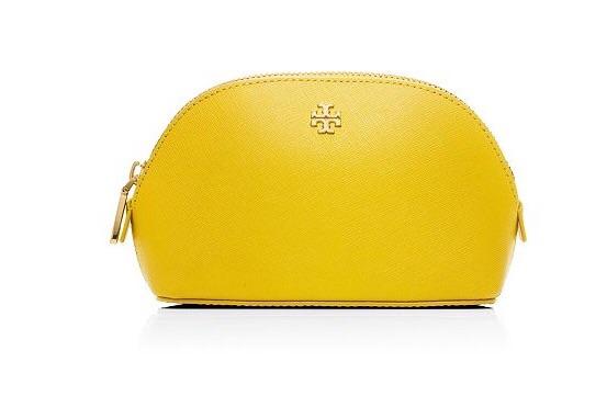 Tory Burch small make up bag on sale for $49, originally $95