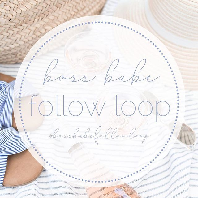 🌸 Boss Babe Follow Loop 🌸 Are you sick of the following just to unfollow?How about how hard it is to create a boss babe group of ladies? Well,we are here to help! Whether you are a brand, businesses, mom or just a boss babe we want you to join our community of ladies!All you gotta do is follow the steps below and voila!  1. Follow the hosts @everything_meli @instinctivelyenvogue and @thesavvydreamer @thebargainbelle 2. Comment 🌸 on their photo so we know you are in! 3. Tap on the hashtag #bossbabefollowloop 4. Follow the accounts under that hashtag who inspire you 5. Comment 🌸 on all of those accounts you have followed  6. Lastly, repost this photo with the hashtag #bossbabefollowloop and get ready to meet new ladies!  Note: This is NOT a follow all loop, it's about creating a community and meeting new people so please do not follow just to unfollow! If you do wish to join in on this loop or any future loops juts click the link in @everything_meli @instinctivelyenvogue or @thesavvydreamer @thebargainbelle bio to be entered in our #bossbabe telegram pod! ( photo and caption will be provided in the pod )  #followloop #bossbabe #bossbabefollowers #communityovercompetition #blogger #motherhoodunite#smallbusinesses #brands #meetnewpeople #smallshops #smallshopsupporter #forthesmall #mamalife #bossgirlbloggers #babessupportingbabes#weekendfollowloop #openfollowloop #followparty#bloggersofig #themomtribe #makersgonnamake #createacommunity