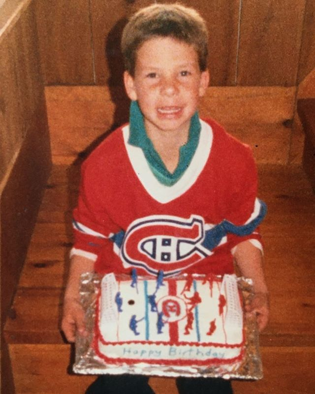 Happy Birthday Chef Justin! 🏒🎂 🎈 We have space tonight if you want to come wish him a happy birthday 🥳#onceahabsfanalwaysahabsfan #actinoliterestaurant