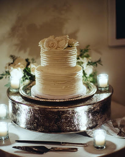 SLIVER CAKE STAND