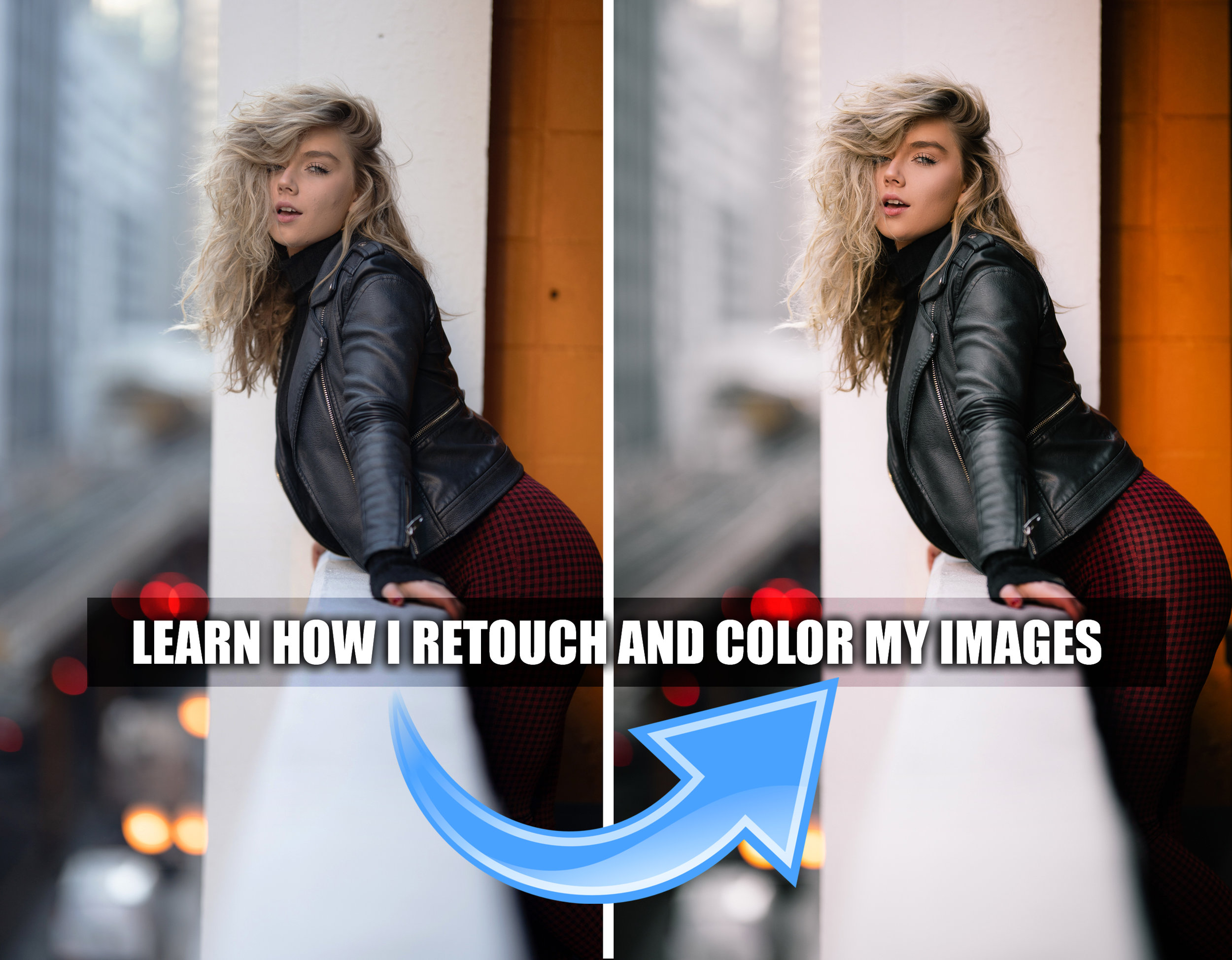 My personal technique to skin retouching using Frequency Separation! - Smoothen skin like a PRO! I will provide a FREE Frequency Separation Photoshop action!