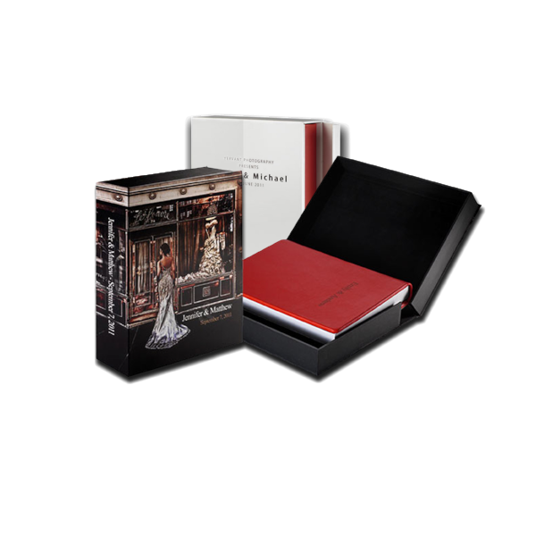 Our line of accessories are dedicated to presenting and preserving your stunning album. Each of our sleeves and boxes is completely handmade and elegantly customized, to make sure it can create unique combinations and increase the value to the book.