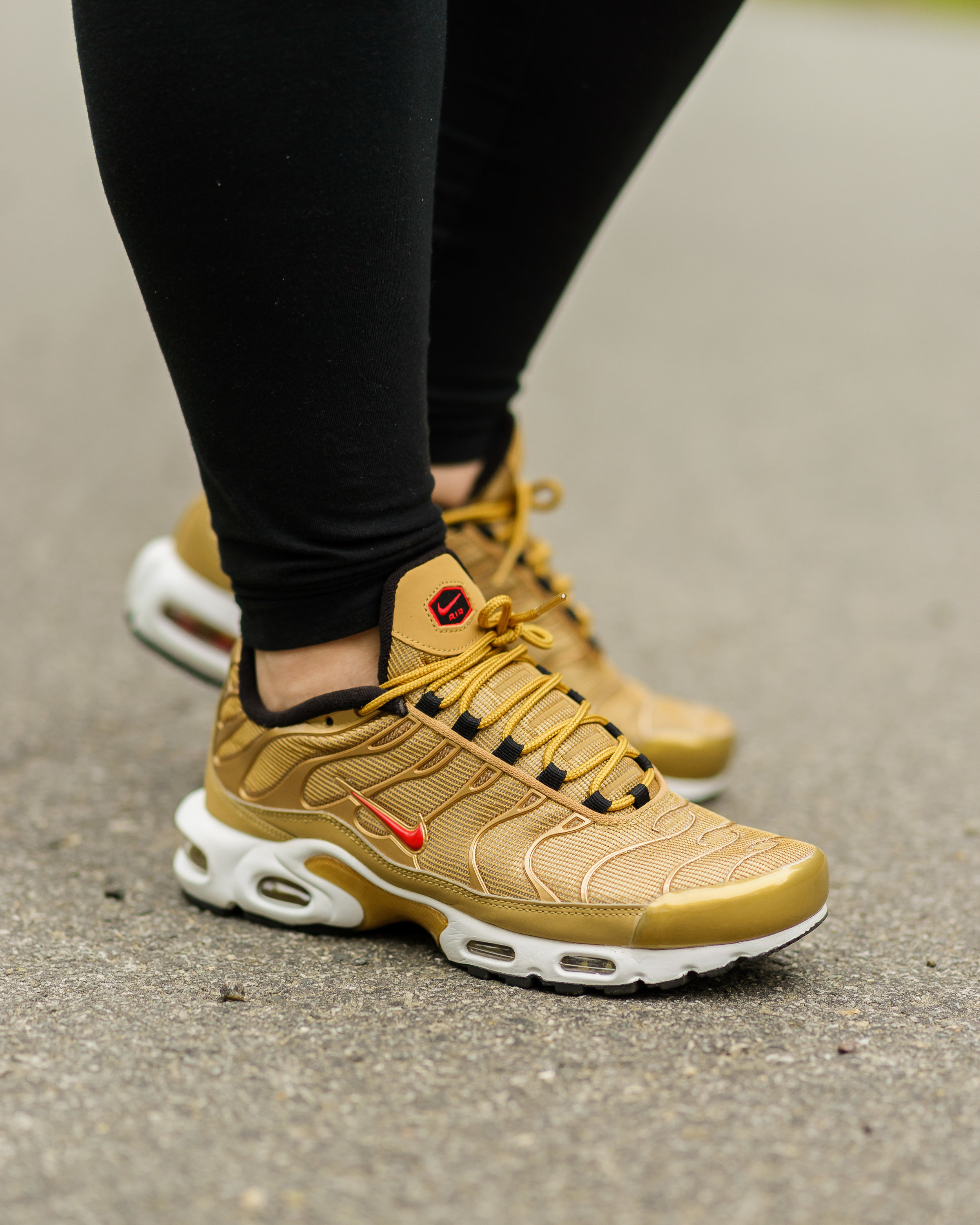 air max plus tn gold