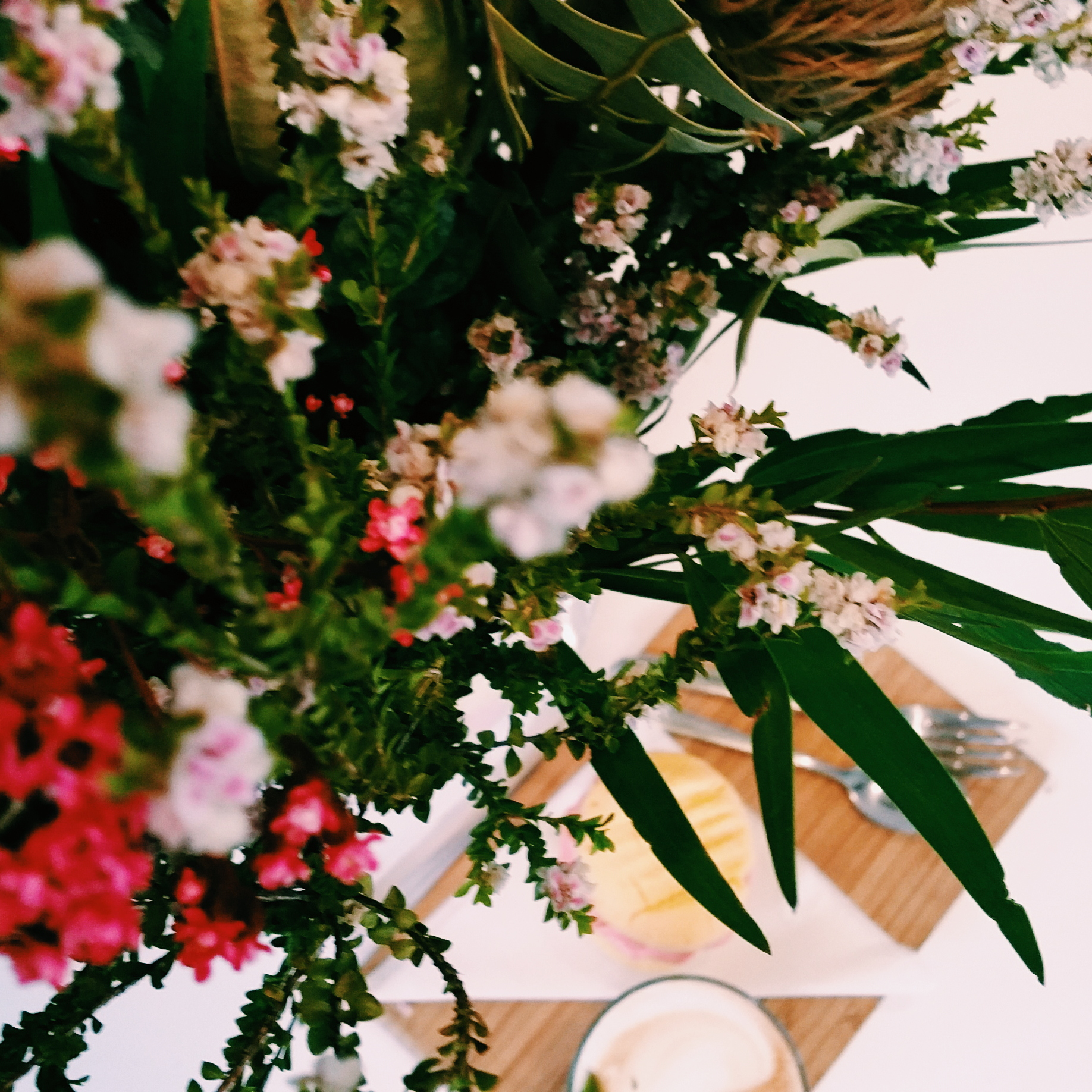 The Racing Cafe Hendra Flowers Sweet