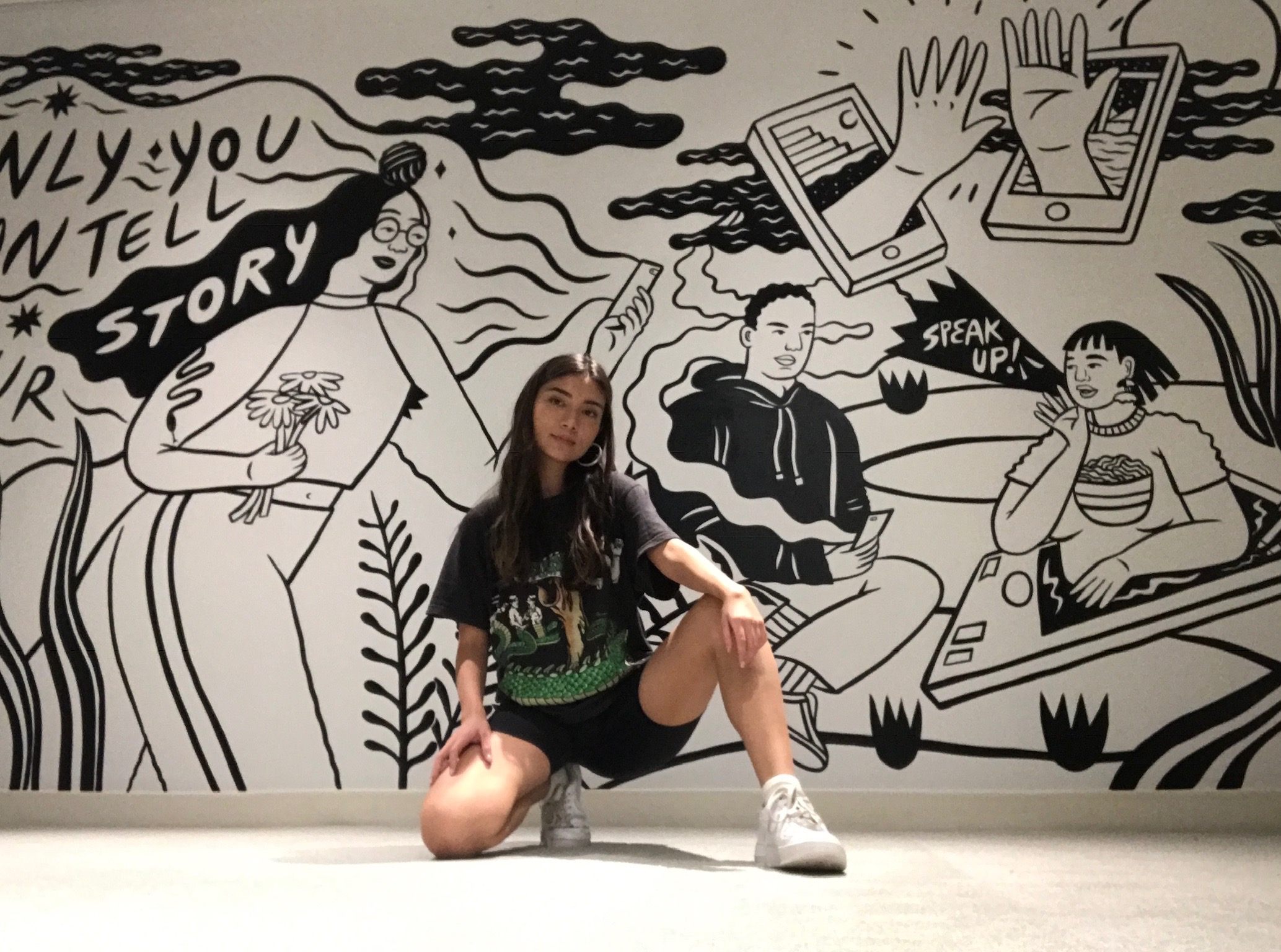The night I finished up the piece. A proud squat.