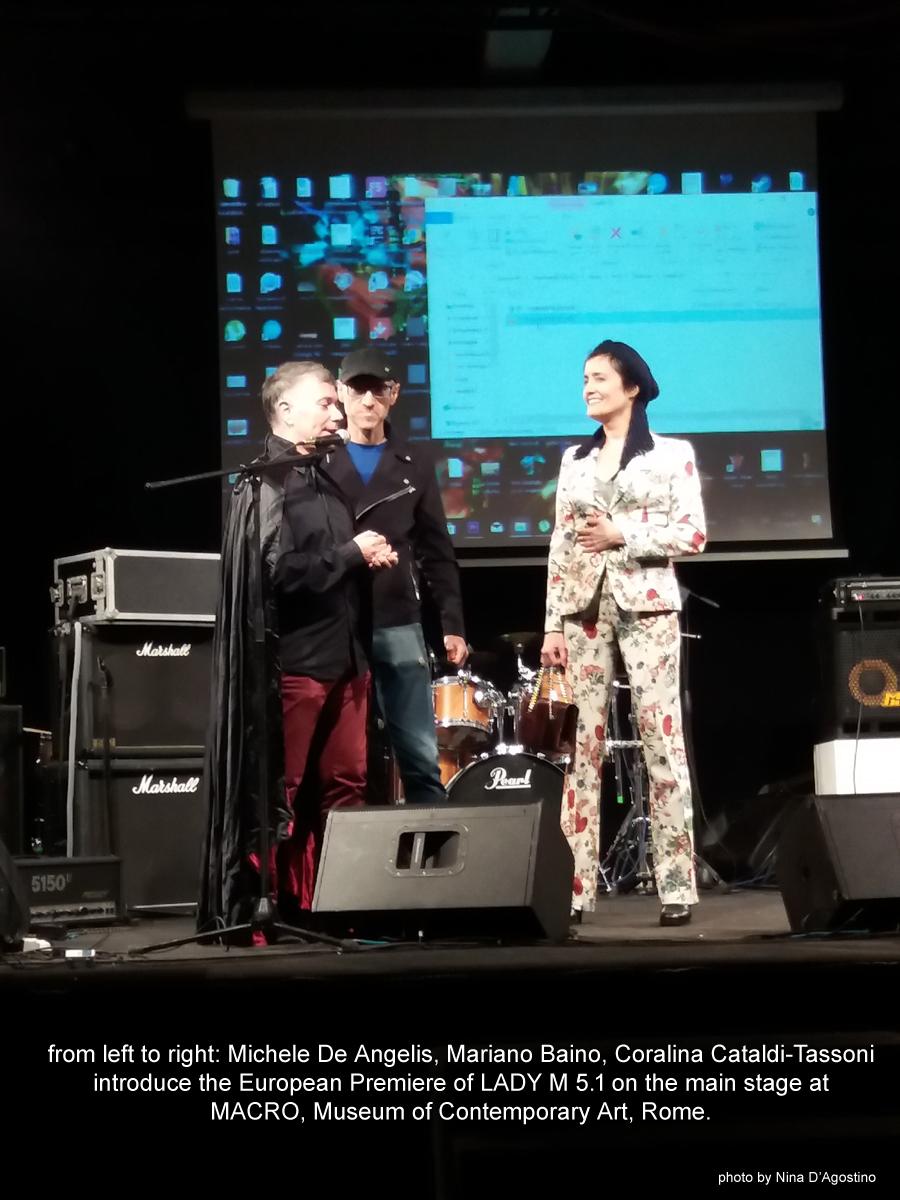 Coralina Cataldi-Tassoni introduces Lady M 5.1 at MACRO October 31st 2017.jpg