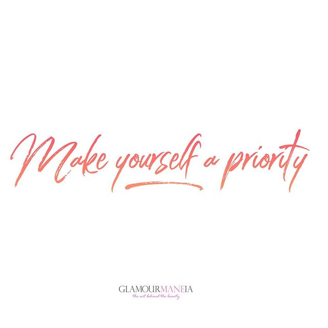 Make taking care of you a priority. Always add care for yourself into the schedule. You will be surprised at how much better you will perform once you take care of you. #HappyMonday #SelfCare . . . . . . . #beautyblogger #mommyblogger #christianblogger #femaleentrepreneur #girlboss #womensupportingwomen #ladyboss #bosslady #bossbabe #womenempowerment