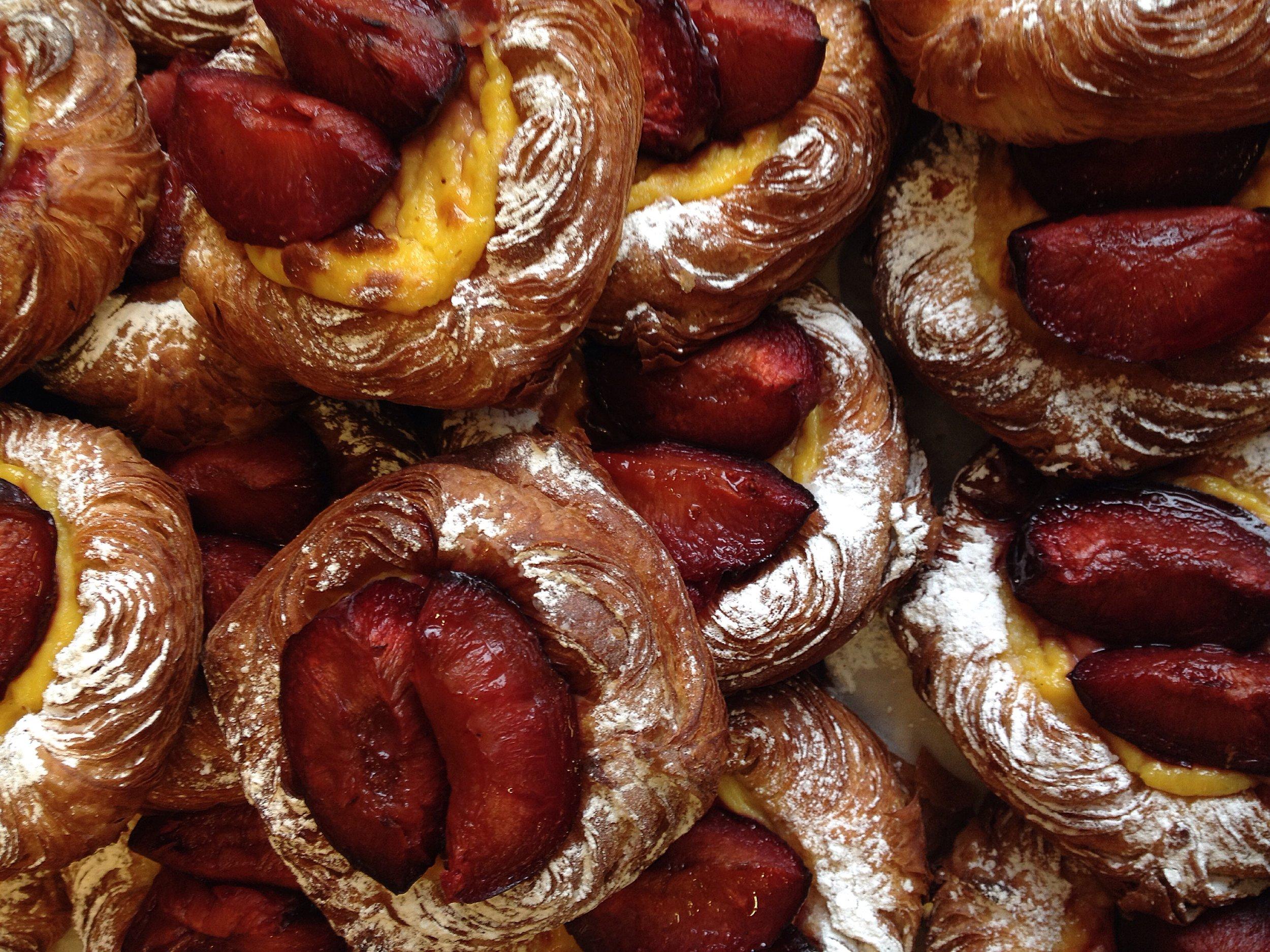 Poached Quince Danish from The Little Bread Pedlar     Photo ©Evie Saffron Strands
