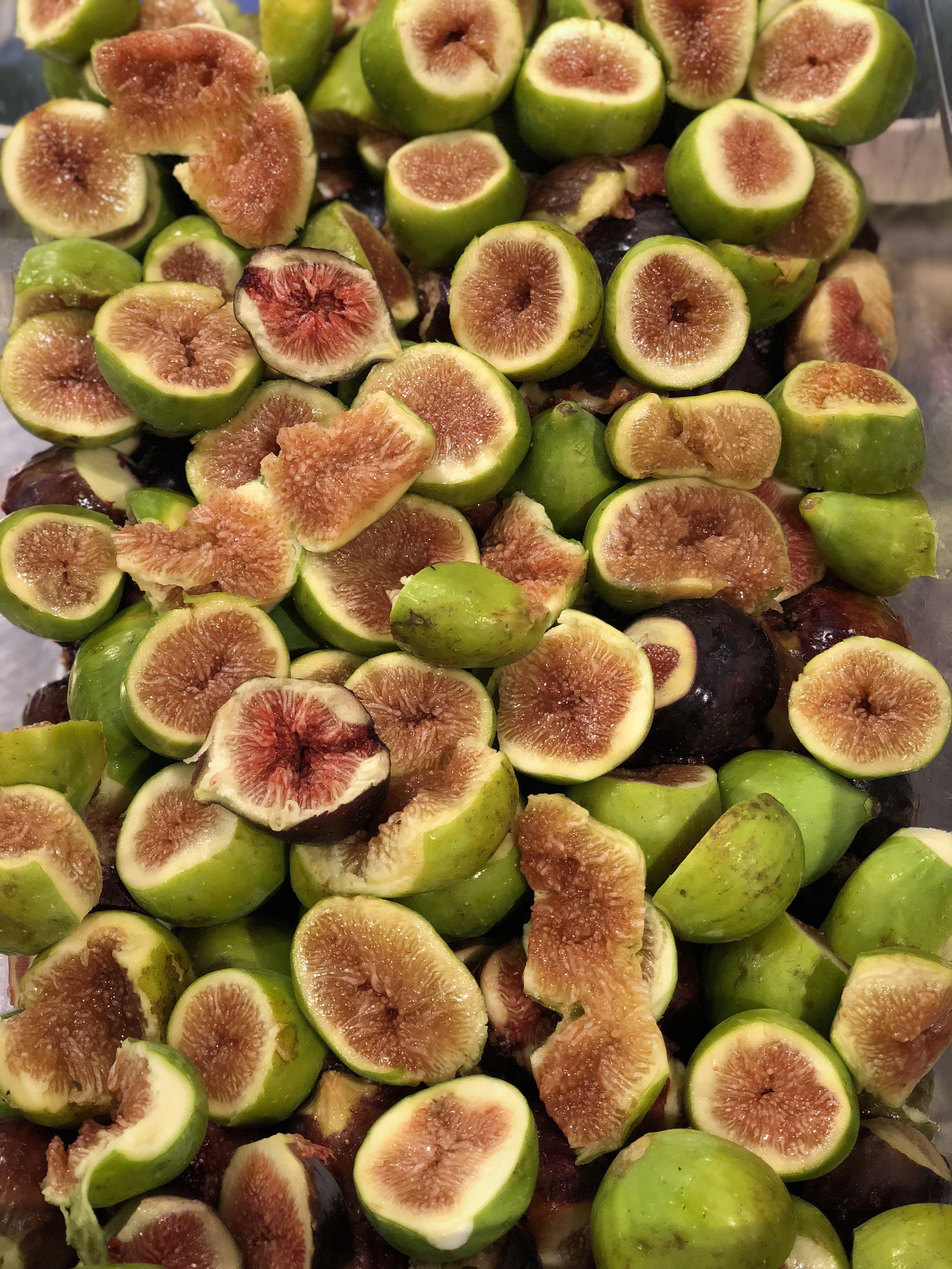 Italian Black & Green Figs    Photo © Puntarelle&Co