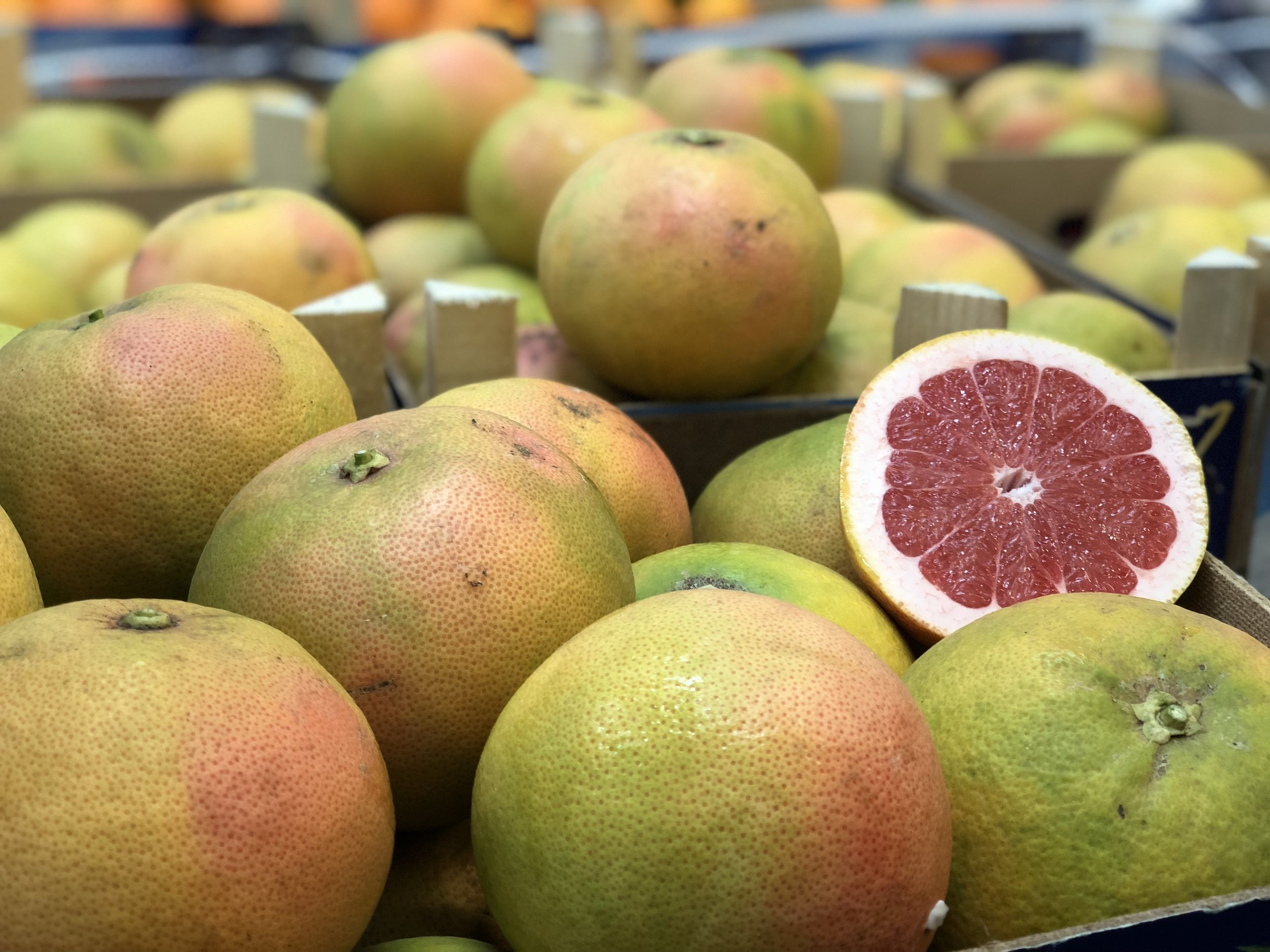 Sicilian Grapefruits    Photo ©Puntarelle & Co