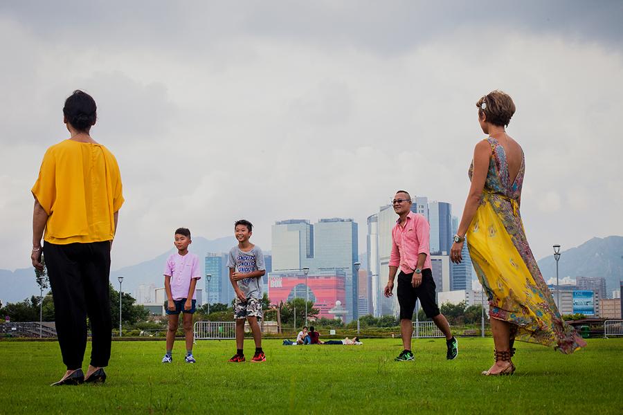 JC CREATIVE 女性攝影師    台北推薦婚攝 女力 人像寫真    華德福 自然風格 手感溫度 親子家庭  香港 父子 母子 家庭紀念照 家族圖像00035.JPG