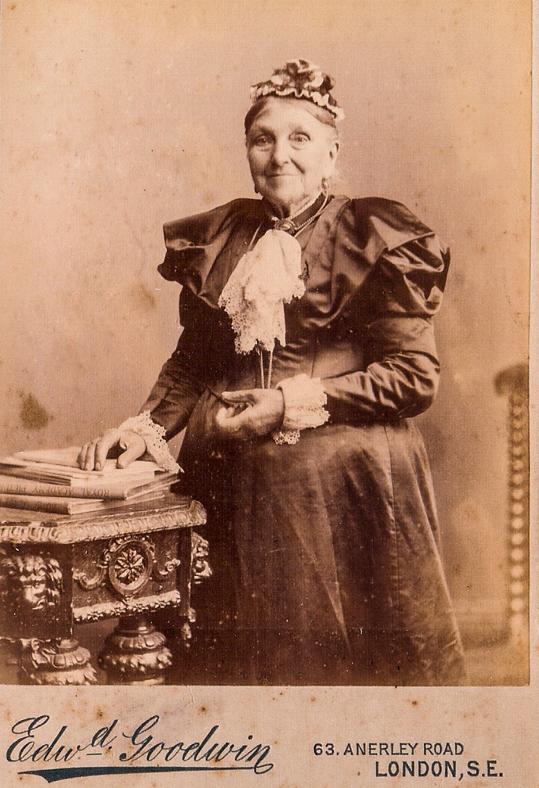 My Great Great Great Grandmother, Elizabeth.