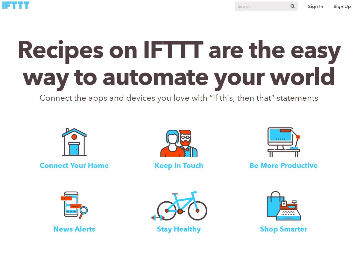 There's endless uses for IFTTT. Set up news alerts and follow industry news!