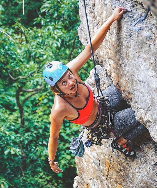 Gotta love that kneebar magic 🧗🏼‍♀️.