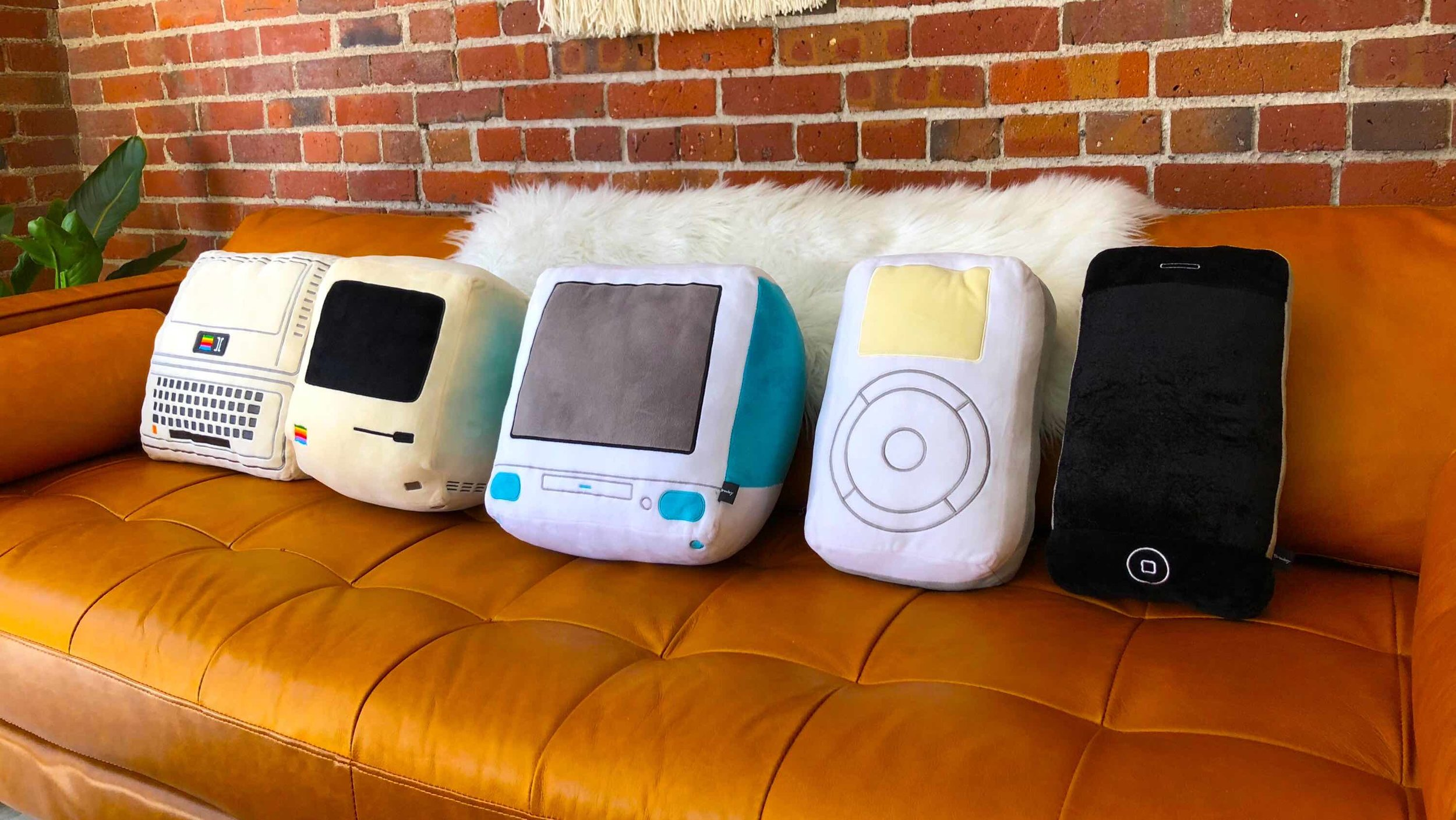 - A cuddly tribute to the tech that changed our lives.