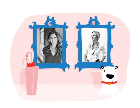 Christine Peck & Meghan DeRoma framed!