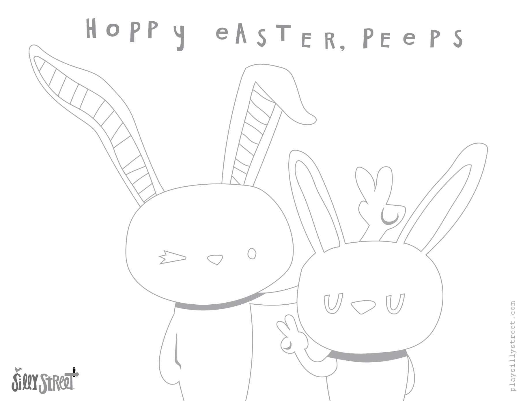 Happy Easter Peeps!