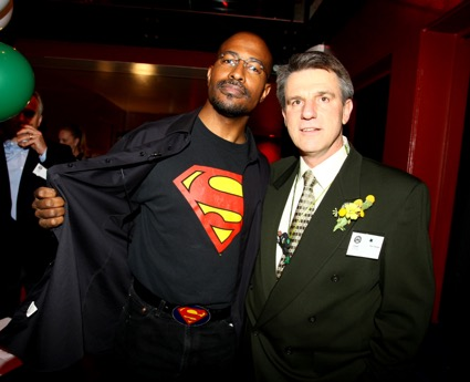 With Van Jones, at USGBC Northern California Chapter's inaugural Green Building Super Heroes