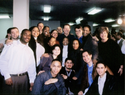 Al Gore (center top) and OpNet program participants