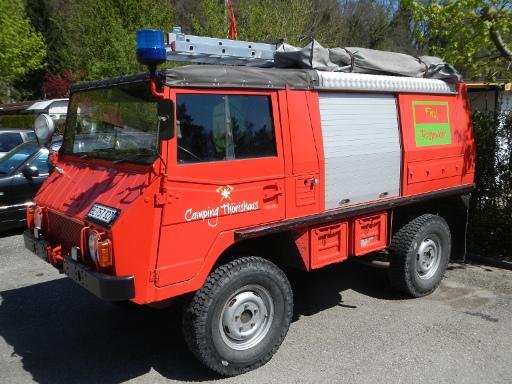Image of Firemen Car
