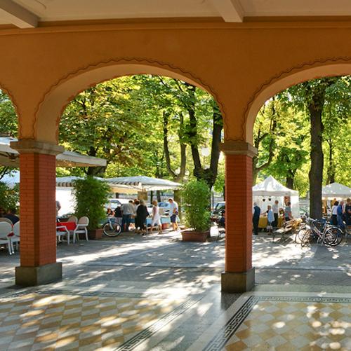 Marked i San Pellegrino