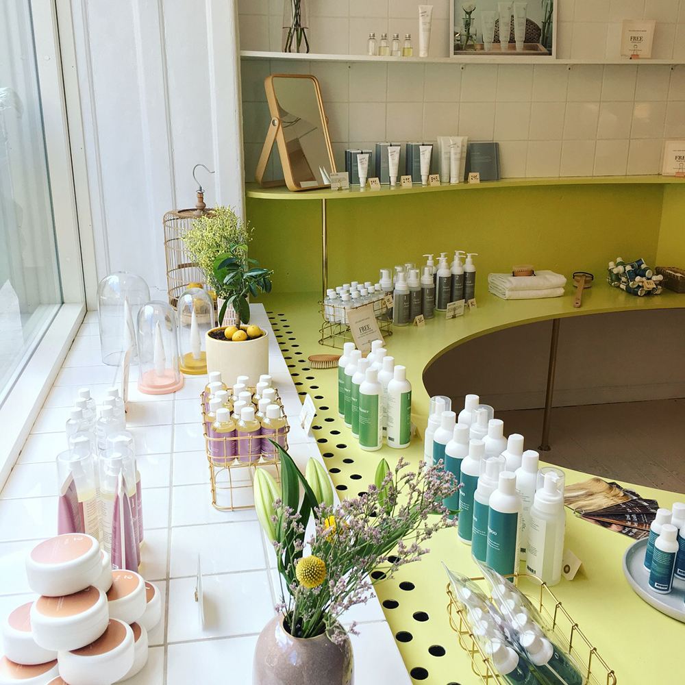 Pop-up-shop med Pure Professional