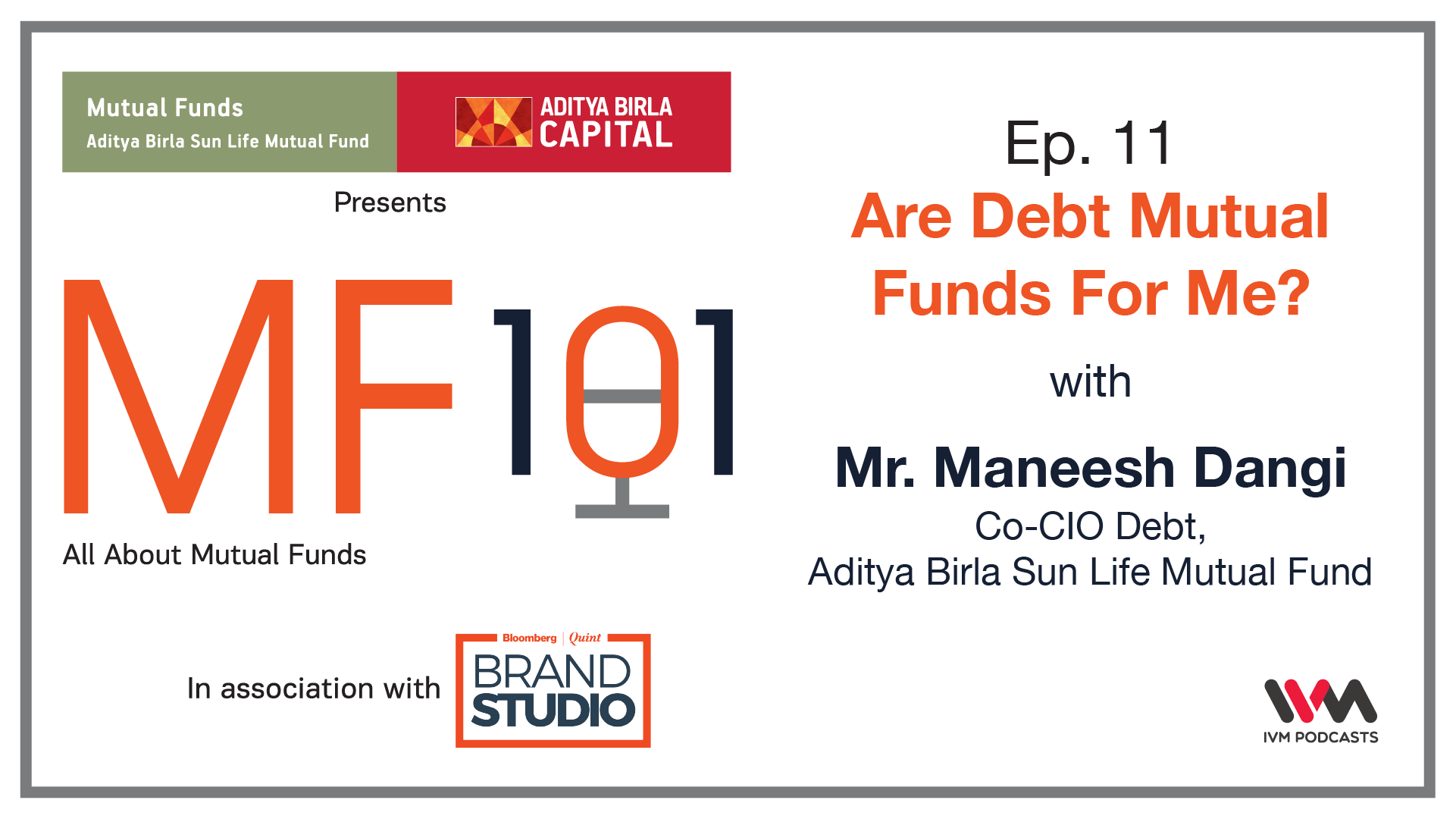 MutualFunds — MF101 — IVM Podcasts - Indian Podcasts for you