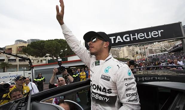 Philip Boeckman Monaco Grand Prix Lewis Hamilton