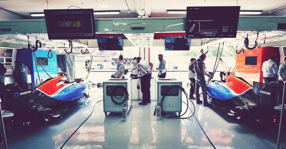 Formula One Manor Racing Philip Boeckman