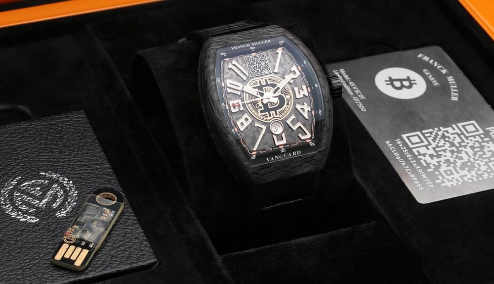 The King: l'orologio Bitcoin di Franck Muller