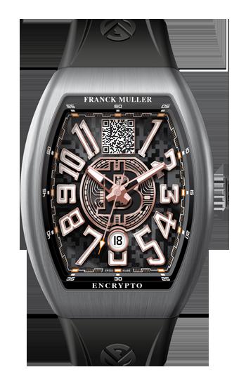 Encrypto, l'orologio di lusso di Franck Muller con un Wallet Bitcoin integrato