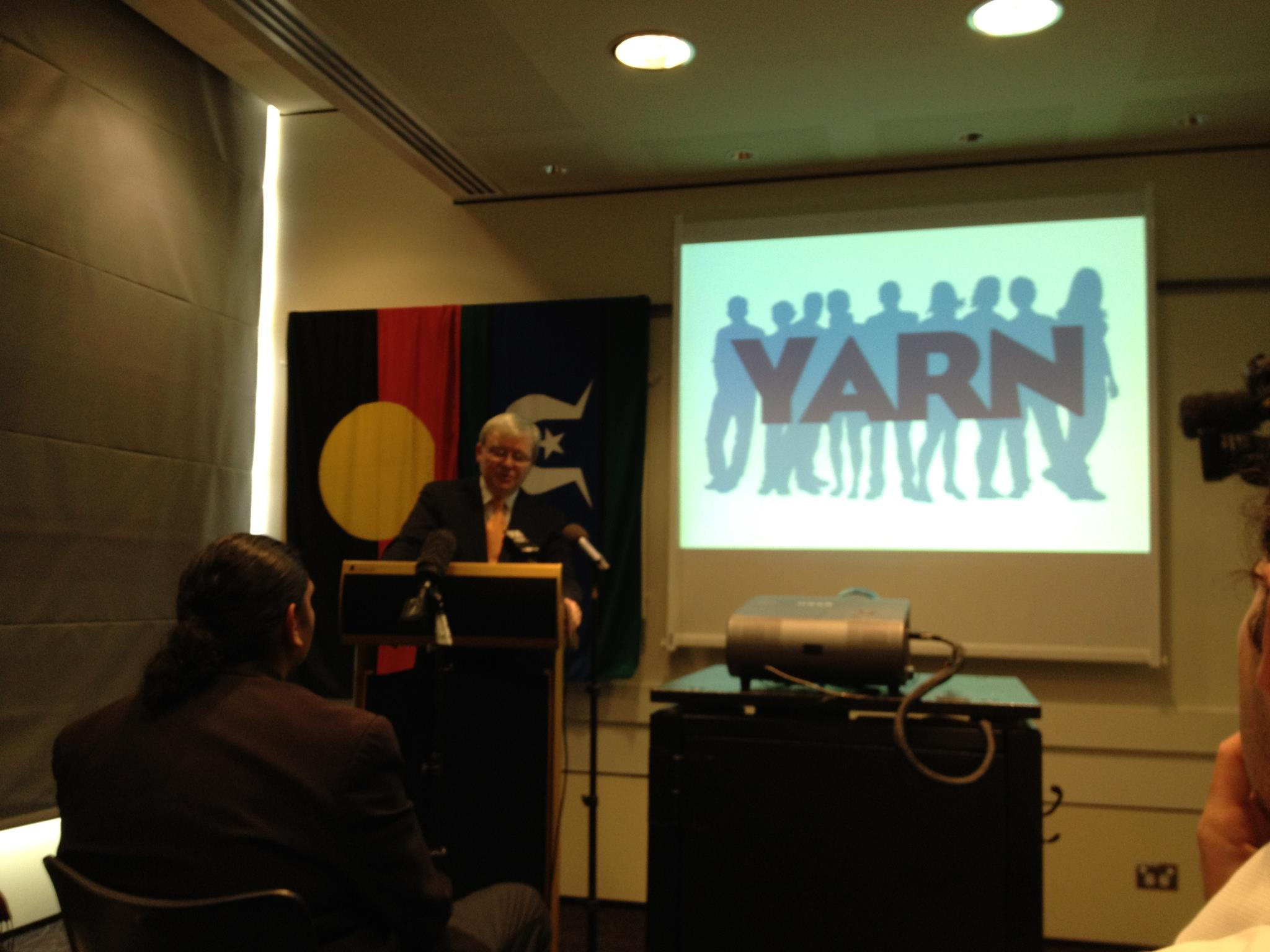 2012 NAIDOC WEEK YARN Launched as a National Program by our first Patron the Former Prime Minister The Hon. Kevin Rudd.
