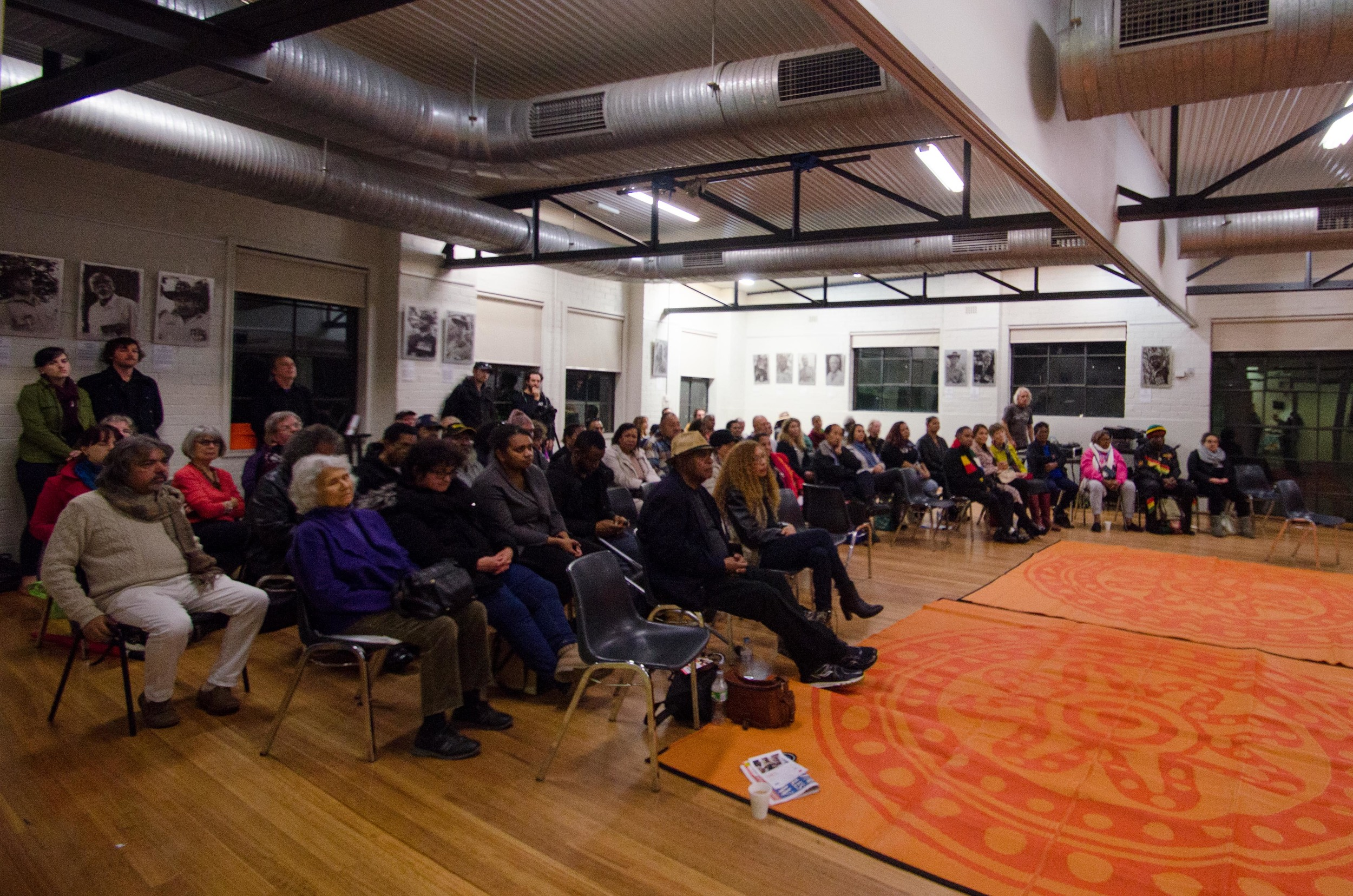 June 3rd Mabo Day at Redfern Community Centre: Photo of the many people who attended the event