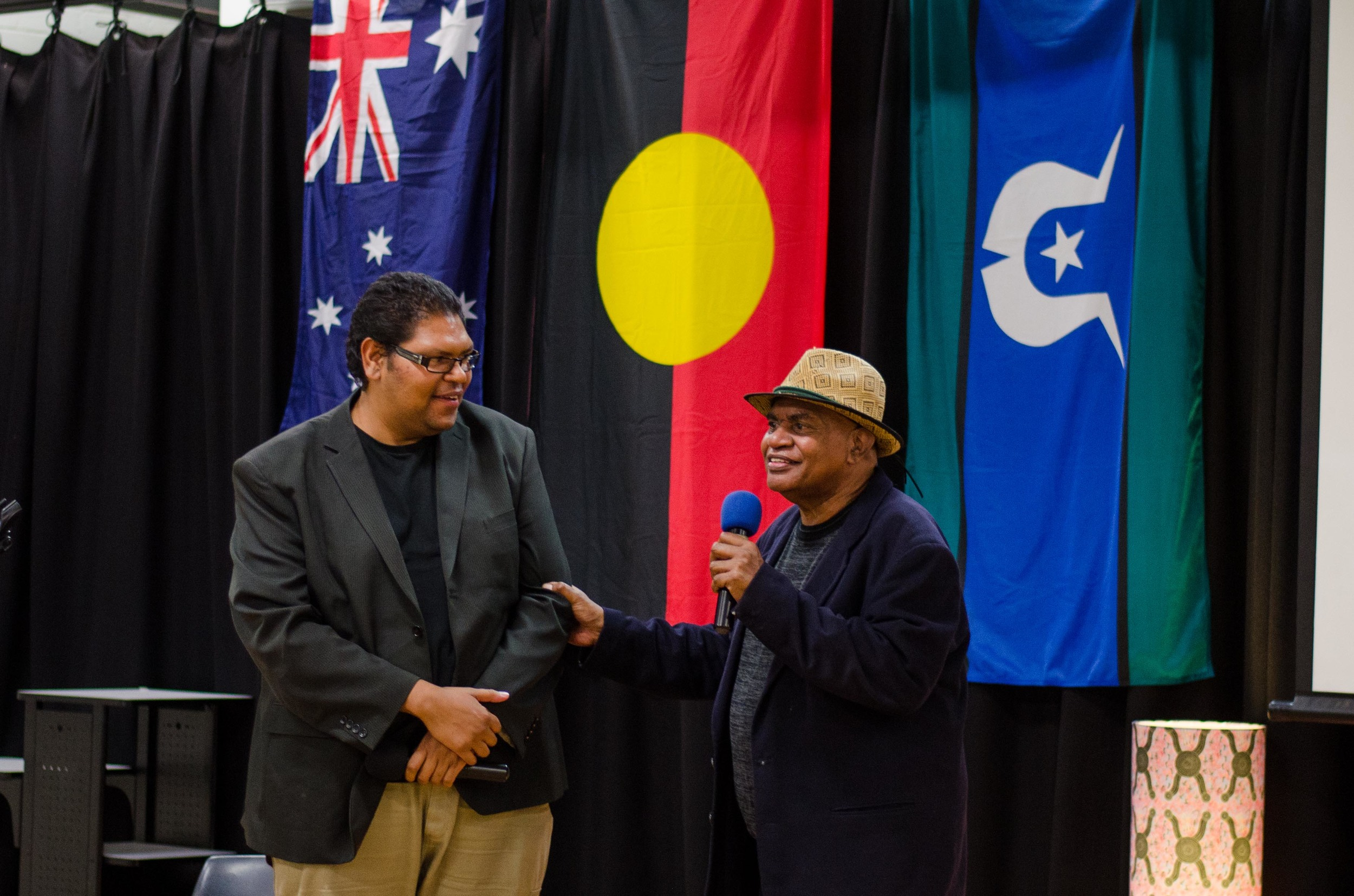 June 3rd Mabo Day at Redfern Community Centre: Thanks Uncle Graham Mooney for sharing your story