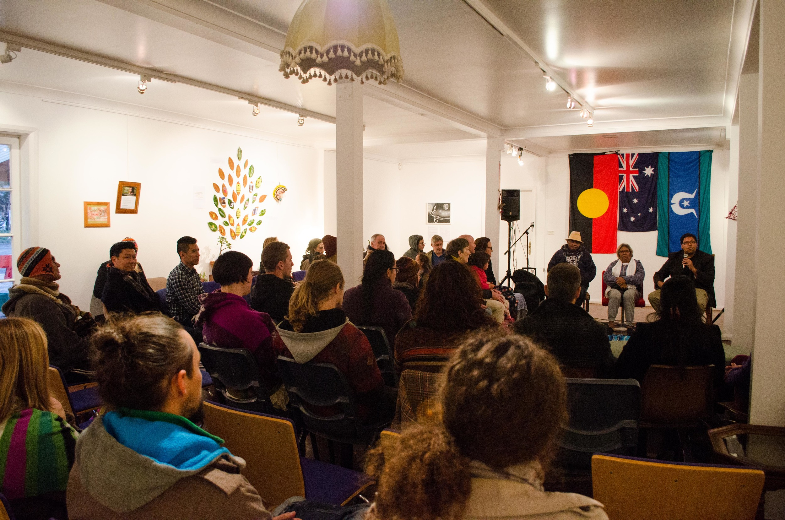 June 2016 Saturday 25th Sydney Latino Pachamama Festival: The many who gathered to listen to our stories