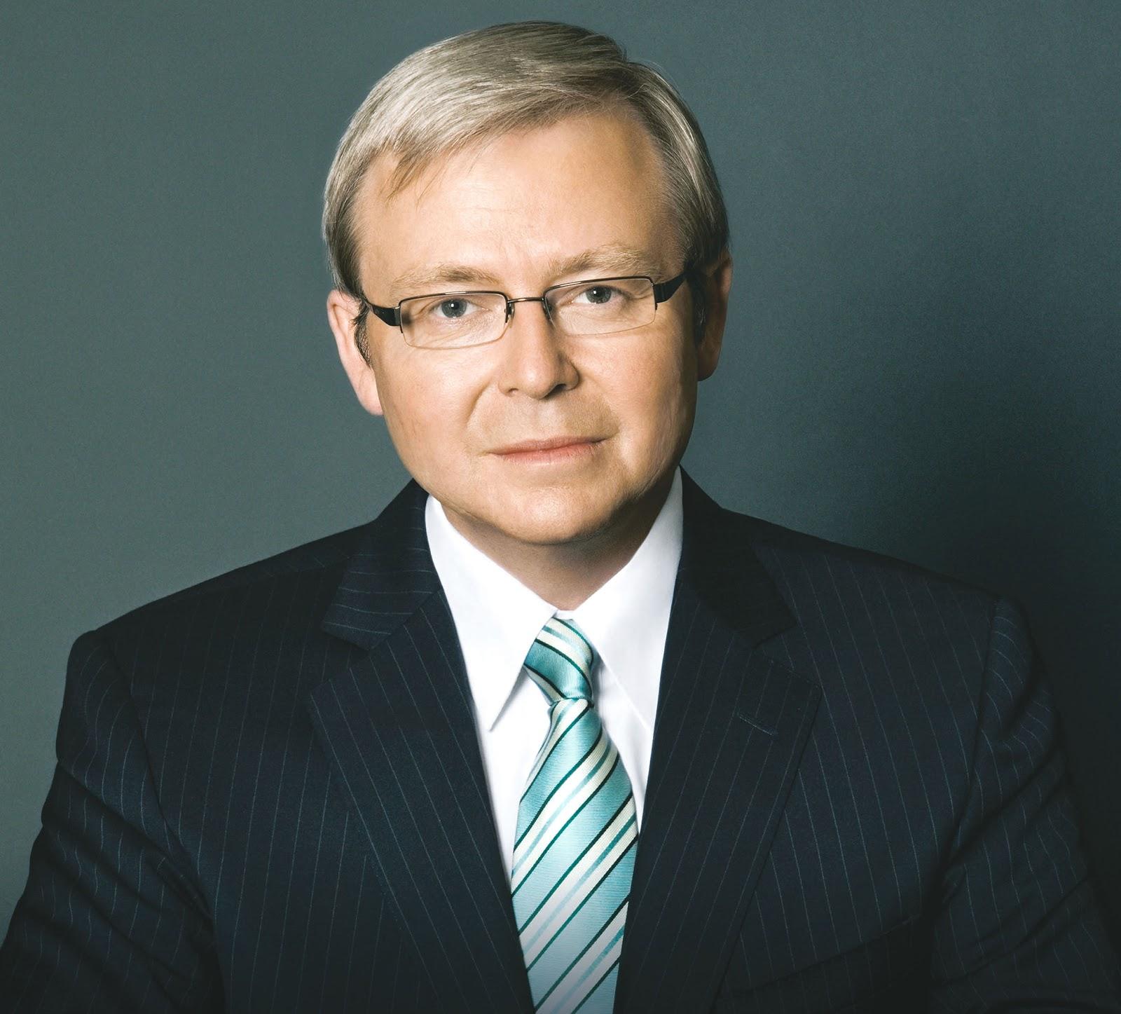 - Kevin Rudd