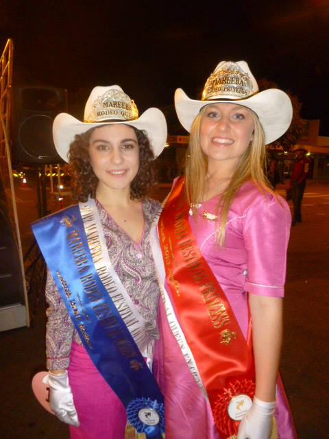 2013 winners - both in Milva Carucci Designs  Queen - Alessia Aloia Princess - Lisa Nastasi