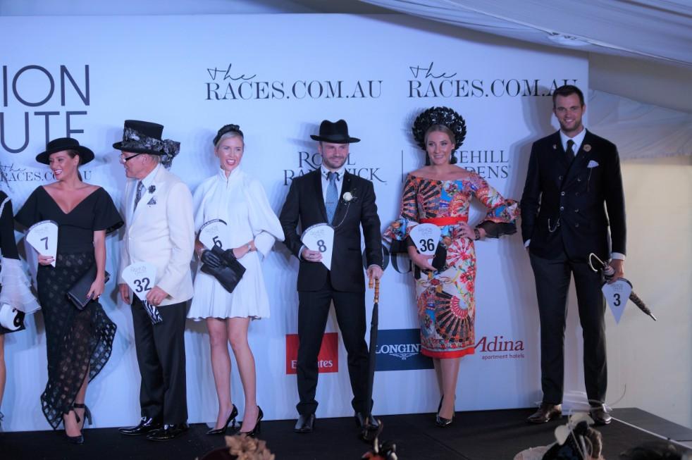 Top 10 of The Fashion Chute  image: Melissa Barnes of  Racewear Carousel