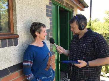 With Radio Shropshire