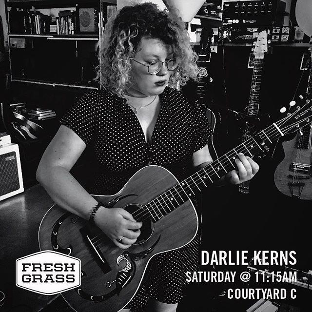 Saturday @freshgrassfestival