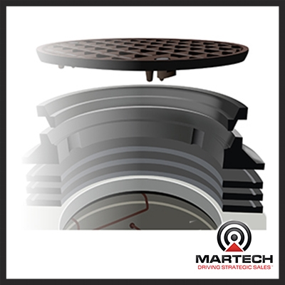 Hamilton Kent Lifespan Watertight        Manhole Frame And Cover