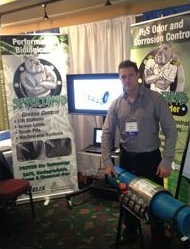 Derek Traquair with Helix Labs and TPS Versa-Max at this year's AWWOA Show